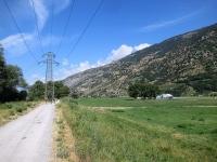 Ciclabile lungo il Rodano