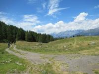 Alpeggio di Tschorr - in direzione di Undri Eischollalp