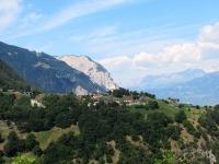 Salendo a Ergisch - Il grazioso villaggio di Oberems