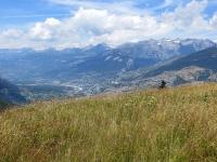 Nelle vicinanze di Obermatten - Ampio panorama sul fondovalle