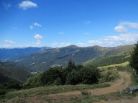 Passo di San Lucio - Panorama sulla Valle Colla