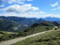 Panorama sulla Val Cavargna dal Passo di San Lucio