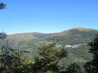 Panoramica sul Monte Bar salendo in direzione della Capanna Pairolo