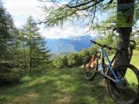 In direzione dell'Alpe Ladrim