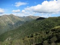 Bel panorama sul Monte Camoghè e sul Monte Gazzirola