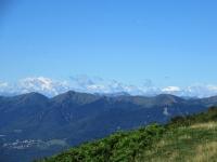 Bel panorama sulle Alpi (Monte Rosa e Mischabel) dagli alpeggi in prossimità della Capanna Pairolo (Mataron)