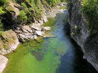 Via delle Vose - torrente Melezza presso Intragna