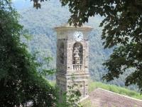 Bel campanile in Biegno