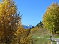 Vecchia strada del Novena - tra Bedretto e Ronco, colori autunnali