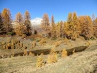 Laghetto presso l'Alpe di Folcra