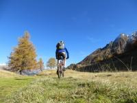 In direzione dell'Alpe Stabiello Grande