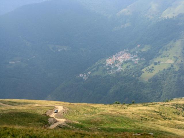 Salita da San Nazzaro in direzione Croce di Campo - panorama