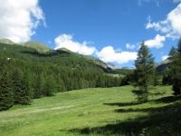 Panorama sul Monte Morion (sx)