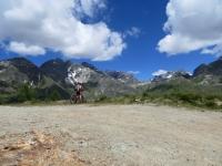 Panorama dal bivio a quota 2.240 per i Rifugi Cuney e Magià