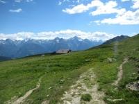 Discesa dal Col du Salvé - alpe Tsa de Fontanay