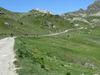 In direzione dell'alpe Tsa de Chavalary