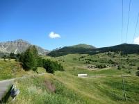 Da Lignan in direzione di Saquignod - Ottimi Panorama con Monte Morion sullo sfondo