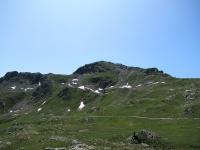 La sommità del Monte Morion