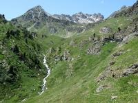 Dall'Alpe Raché al Rifugio Magià - Panorama alpino