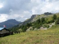 In direzione di Varneralp west - vista su Petit Mont-Bonvin e Mont Bonvin