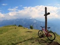 La croce nei pressi di Varneralp Ost