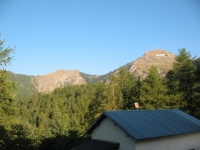Monte Gray e Cima della valletta dal Rifugio Allavena
