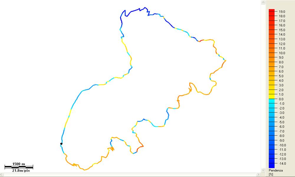 Piani di Artavaggio - Piani di Bobbio - Pendenze