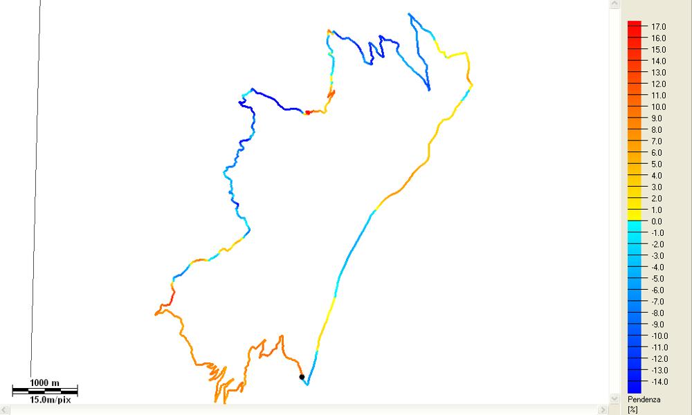 Traversata bassa della Grigna meridionale Pendenze